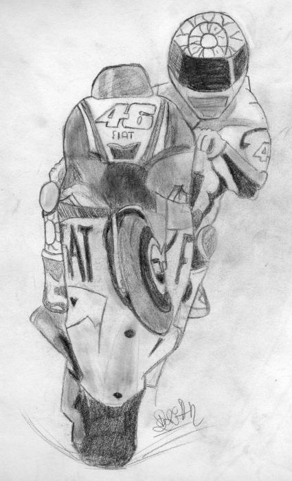 Valentino Rossi by Brian4